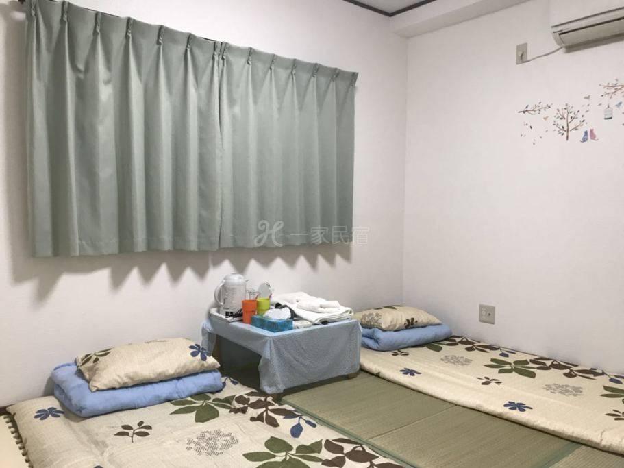 日本大阪舒适2人房间,有4个房间可供选择,适合家庭团体