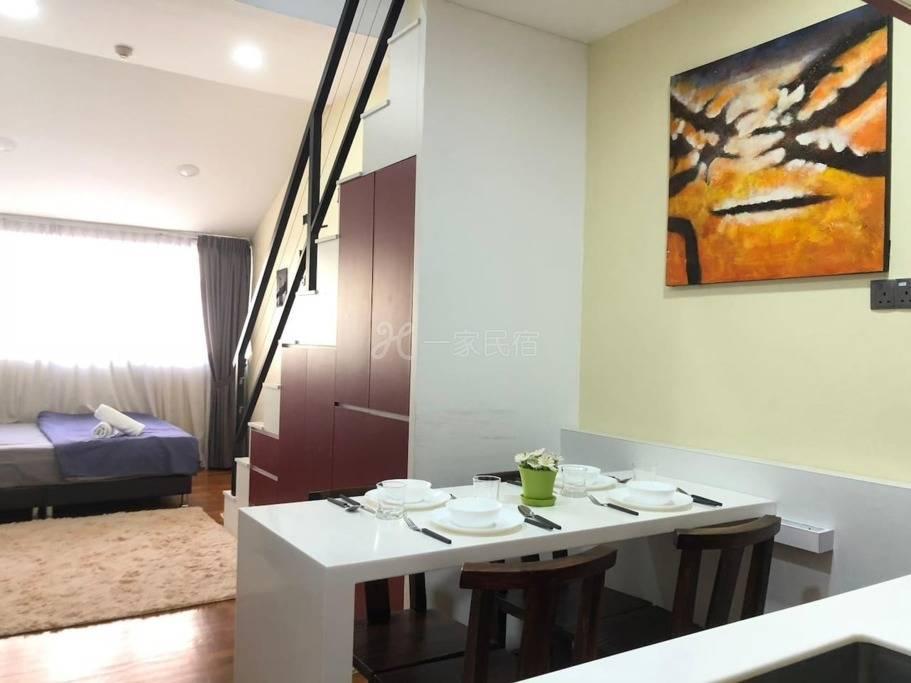 ! ! !令人惊叹的艺术阁楼公寓 @ Katong ON10