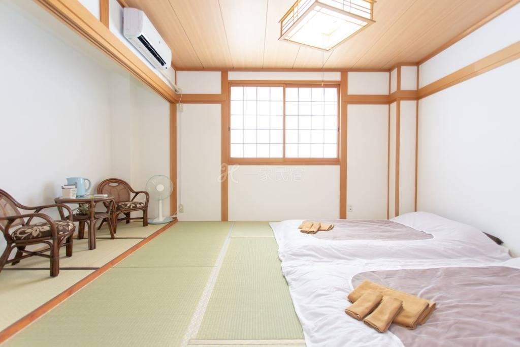 大阪鹤桥车站1分 一戸建て♪交通超~便利,一戸建4楼2-6人个室