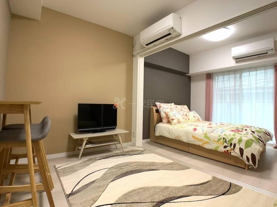 OSAKA机场接送 & 黑门市场1分 高级公寓日本桥车站 1BR 1202