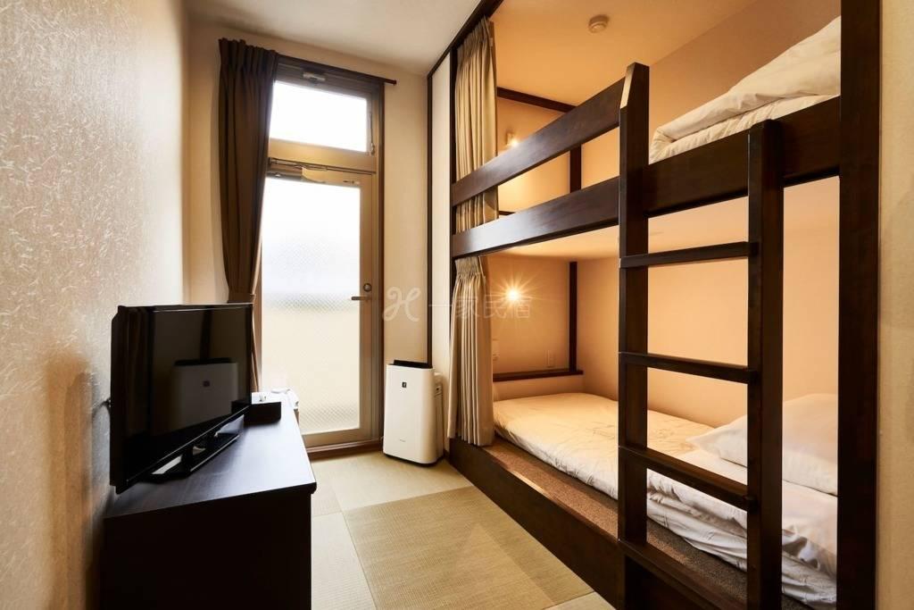 #Room4 距车站步行5分钟 位于京都中心的现代私人房间!!提供免费WIFI