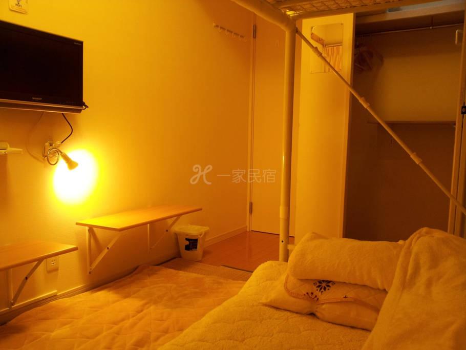 2/4距离JR八王子车站徒步5分钟之东京8home东京民宿【八王子之家】 - 阁楼床和式房