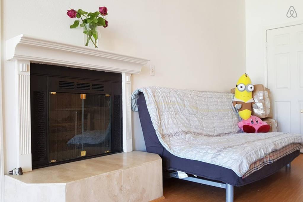 共用客厅与舒适的沙发。