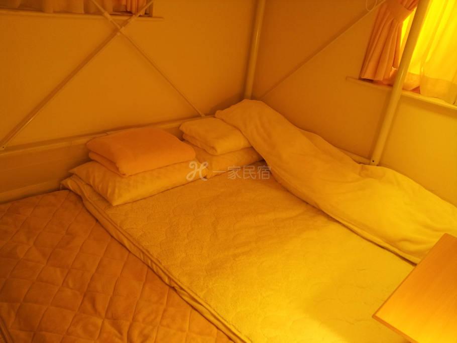 3/4距离JR八王子车站徒步5分钟之东京8home东京民宿【八王子之家】 - 阁楼床和式房