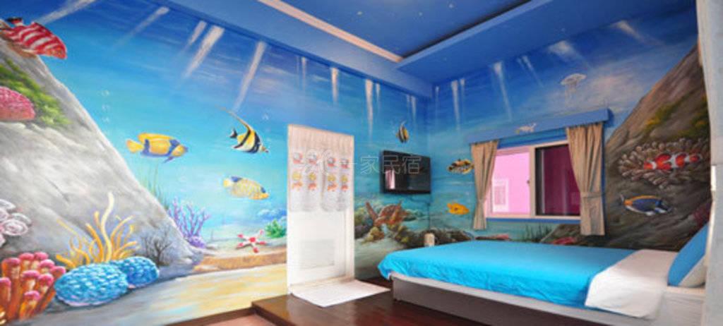 屏东--海洋风情渡假旅馆 地图宝螺