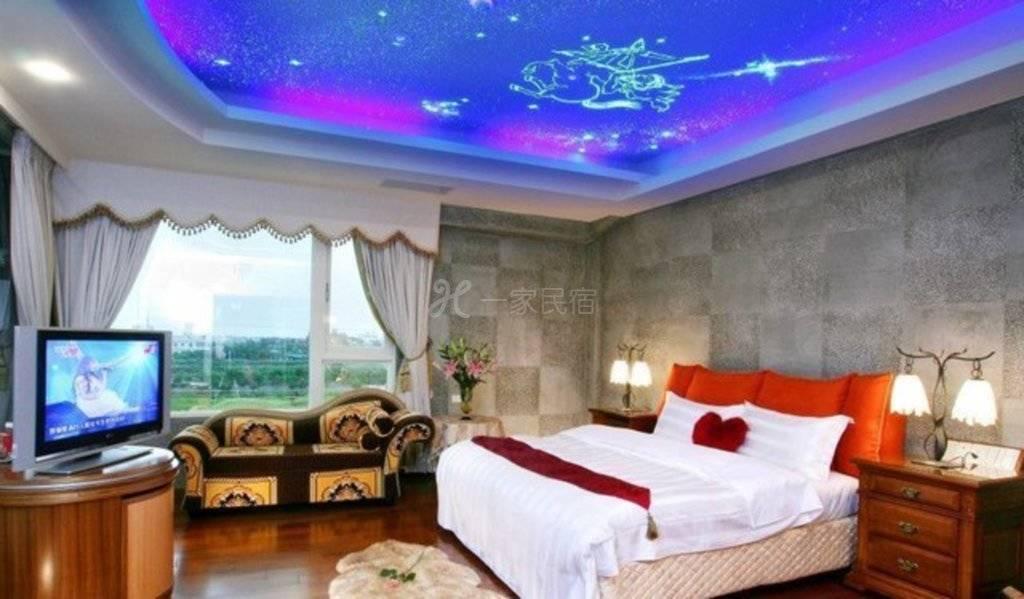 宜兰--巴黎渡假温泉别墅 水漾双人套房