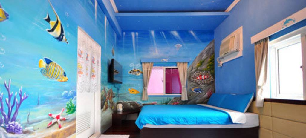 小琉球--海洋风情渡假旅馆 地图宝螺