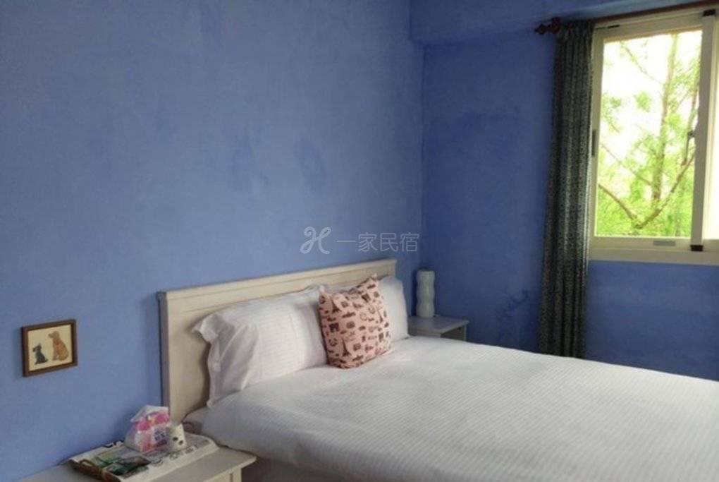 宜兰--爱在家民宿 蓝如海四人房