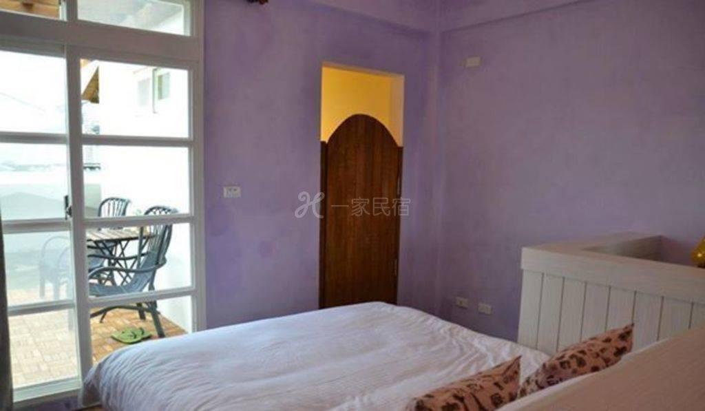 宜兰--爱在家民宿 紫如画双人房