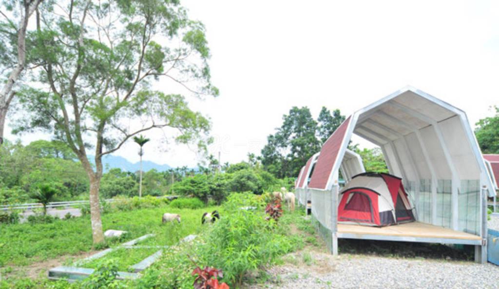 台东--金谷农庄民宿 露营区