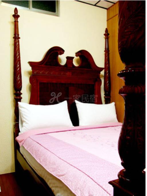 小琉球--向堡渡假民宿 向堡2F--幽雅双人套房
