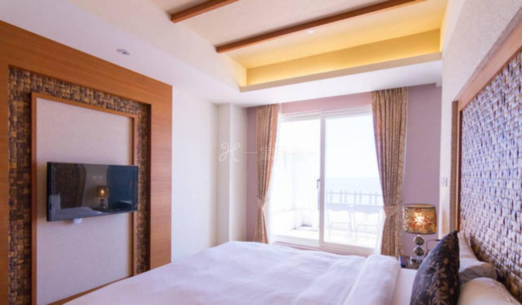 垦丁--海南岛精品旅店 502阳台海景VIP峇里岛风双人房
