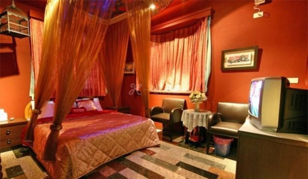 南投--日月花嫁渡假屋 精致二人套房