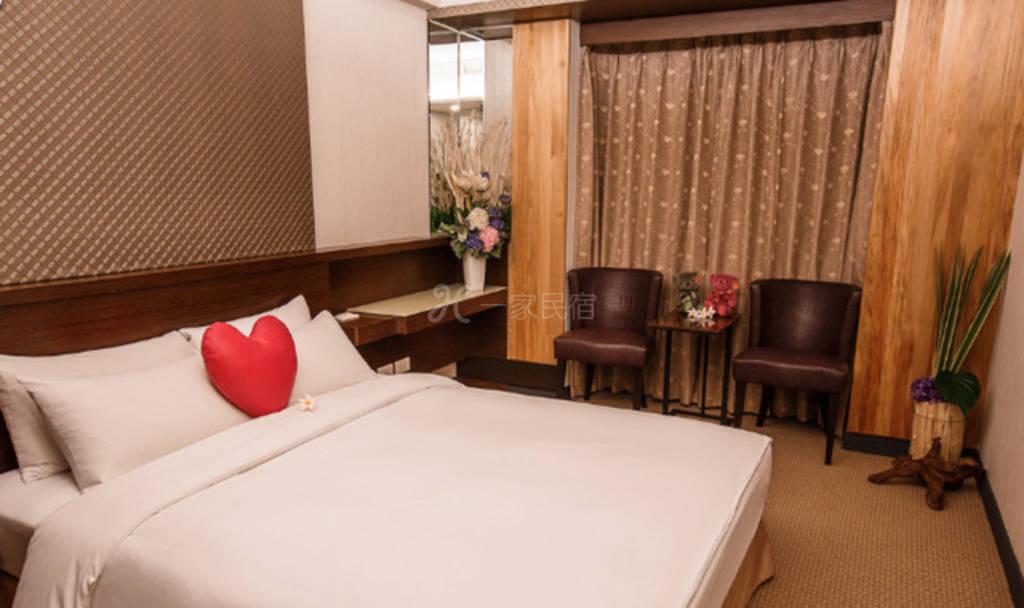 台中--黎客商务旅馆 标准单人房(1大床  也可两人入住)