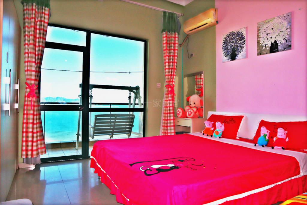 1房可住3人高层海景母子房
