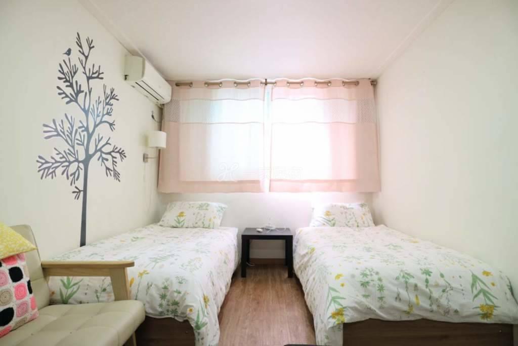 首尔站5分/豪华两人间/两个床 #2