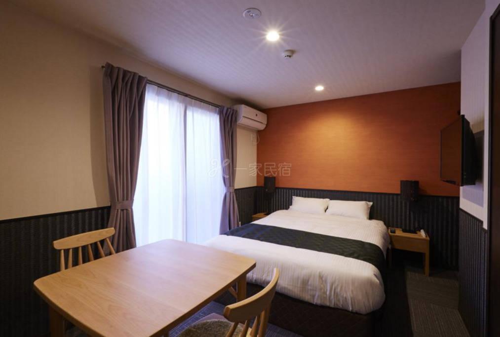 京都二条城酒店式公寓 双人大床房