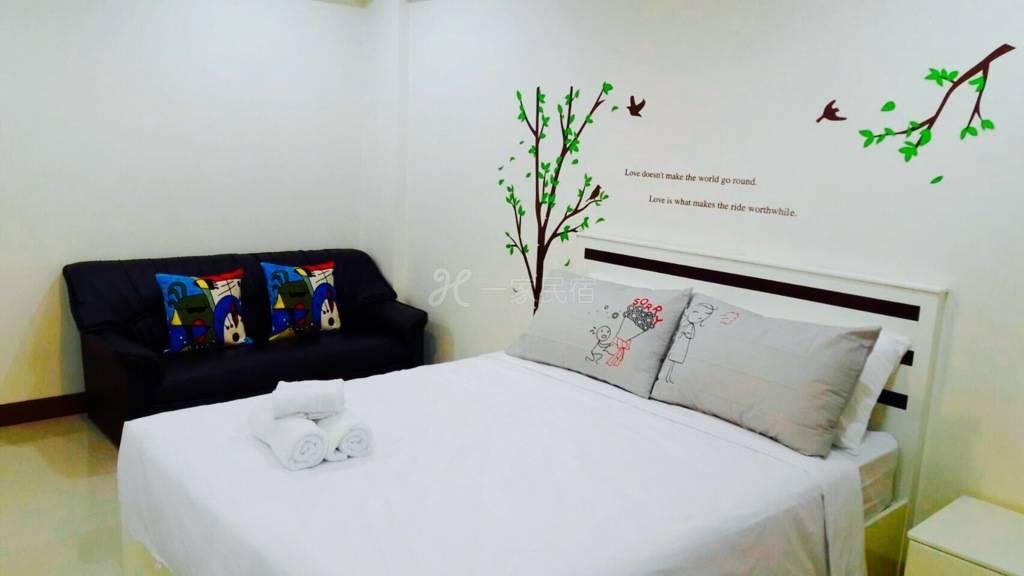 老吕的曼谷民宿——创意舒适房