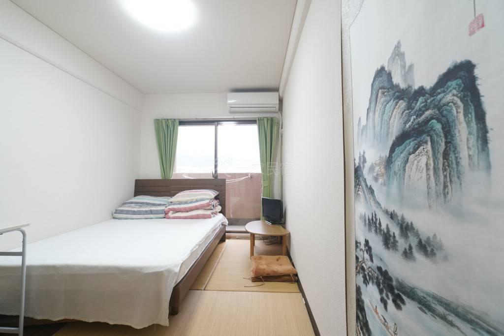 京都站鴨川公寓雙人床1號