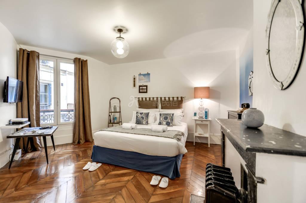 阿凯福七号公寓-巴黎四区玛莱