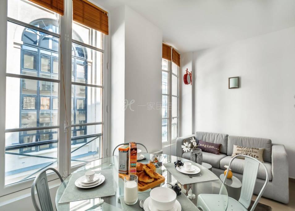 波诺威二号公寓-巴黎十区歌剧院