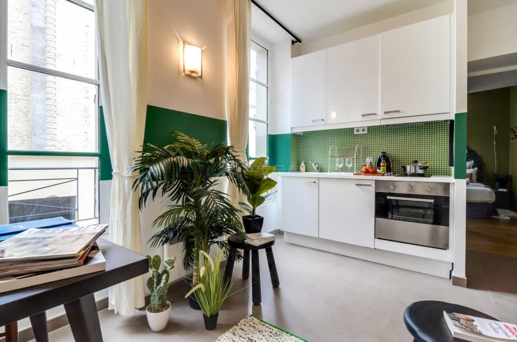 安格恩七号公寓-巴黎十区歌剧院