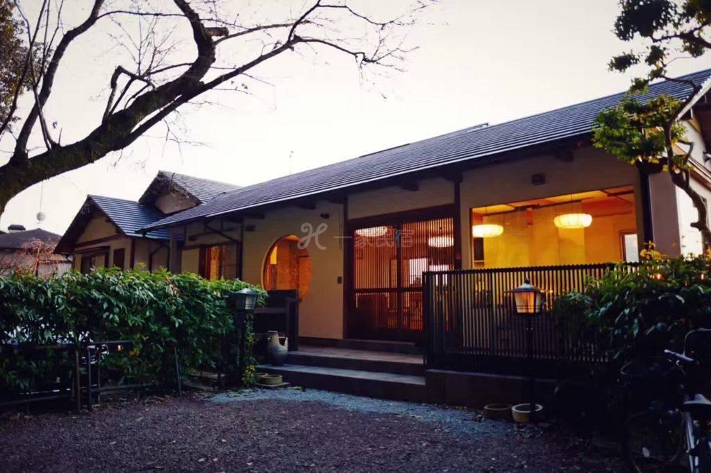 《合法经营》京都和风庭院别墅,樱花最美的哲学之道旁,步行至银阁寺、南禅寺,平安神宫,门前樱花飞舞