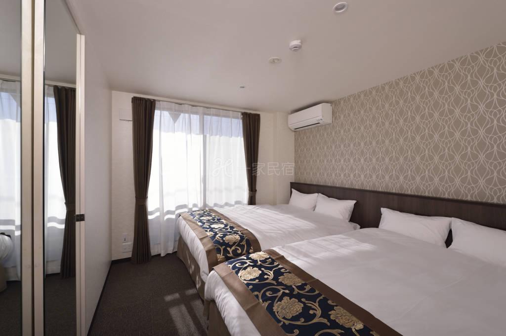 京都全新A1双人床4人直达伏见大社清水寺