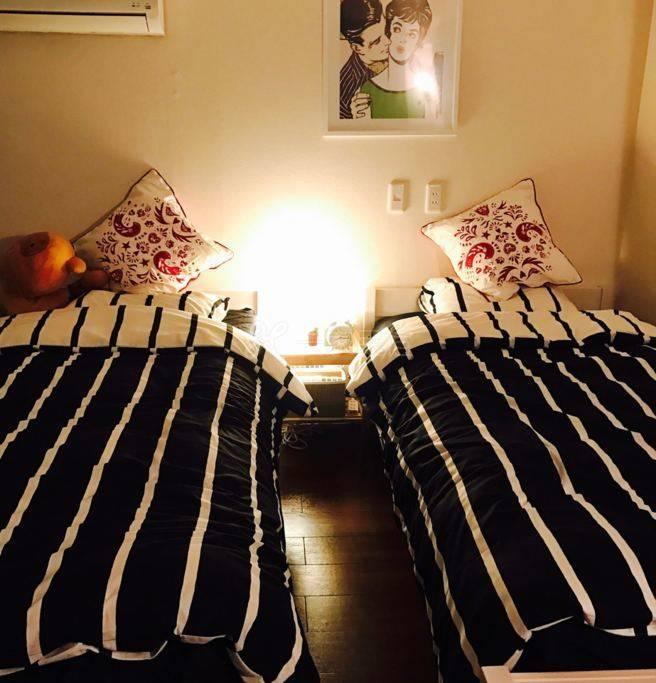 池袋4分钟,东京民宿,温馨家庭房。