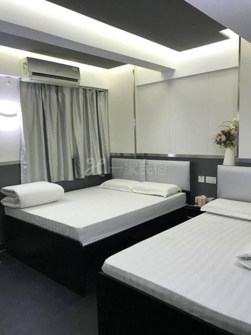 701双床房,1.8及1.5米床供五人住
