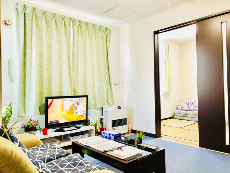1日式榻榻米房间免费WI-FI札幌市中心