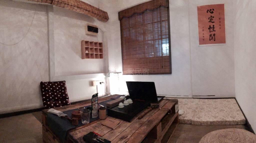 超级便利的设计工作室,榻榻米风格禅式房间