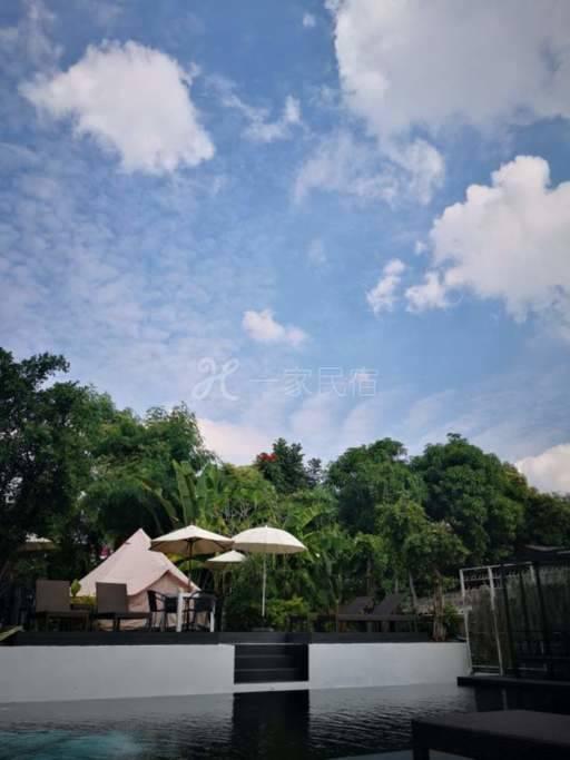 古城内泳池景温馨帐篷房(凉季special camping)