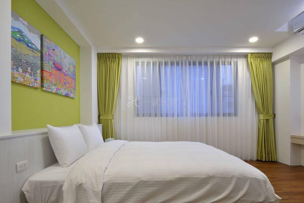 豪華雙人房。高雅舒適。