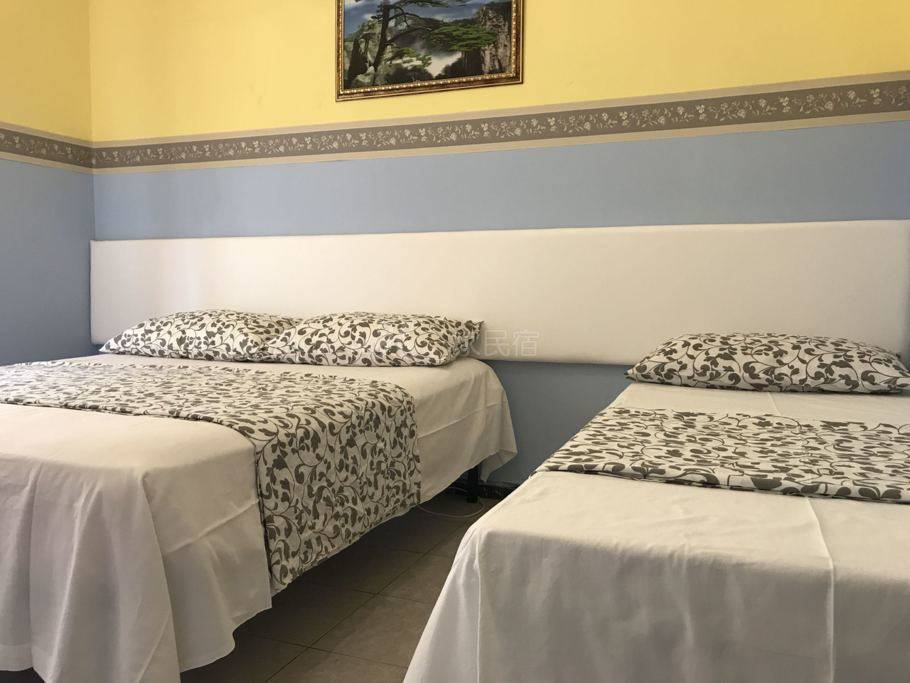 罗马好运来家庭旅馆--三人间