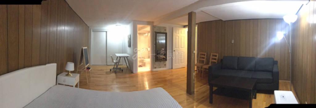 北约克超大半地下房间