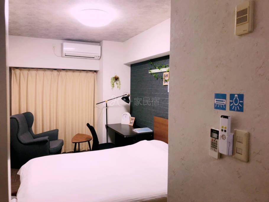 【京都市中心四条】802温馨舒适的独立房屋,私人浴室