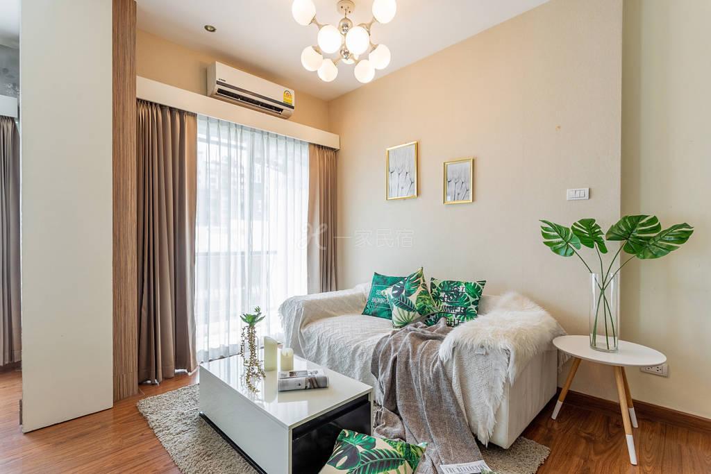 清邁2 D condo優雅輕奢免費健身公寓,黃金位置,五分鐘步行掃遍寧曼,MAYA商圈
