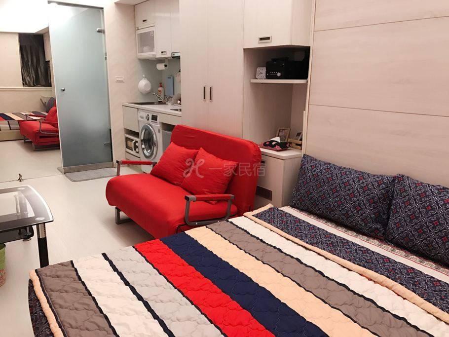 近捷运中山站电梯套房有厨房浴缸 2-3人