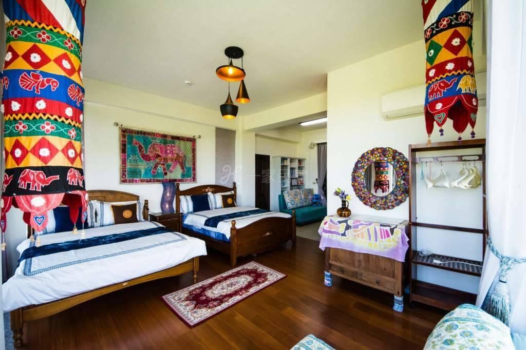 宜兰--老公老婆友善民宿 异国风情水岸景观2-4人套房