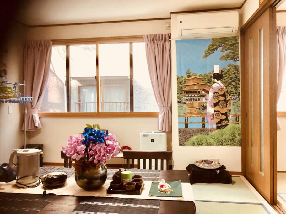 翔龙庵久保家京都站免费接送日式楼房