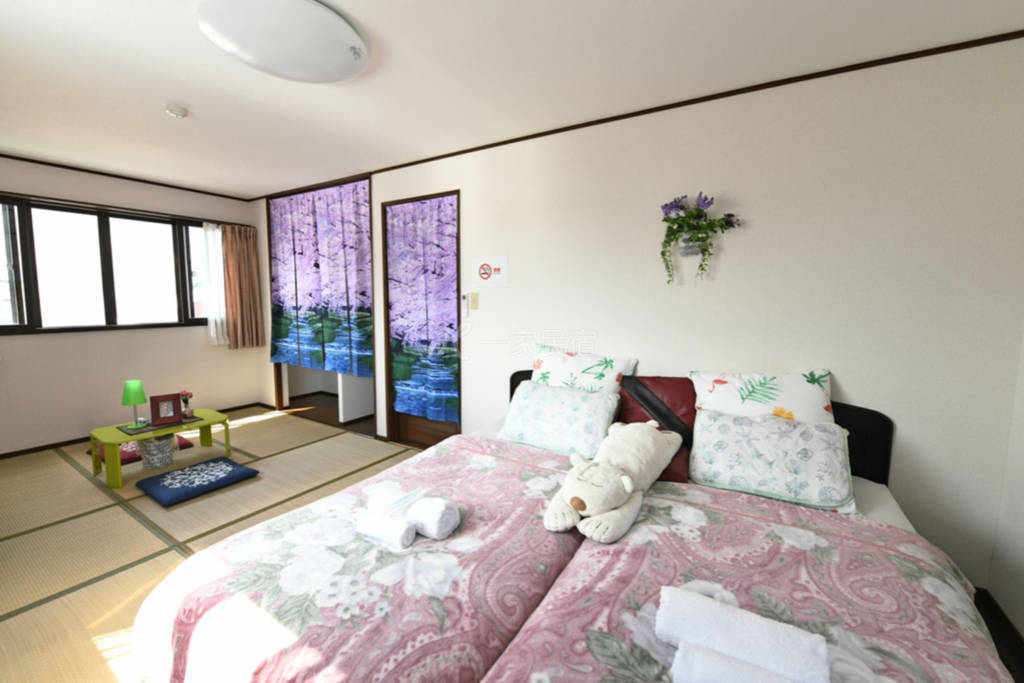 翔龙庵久保家京都站免费接送3b双床房