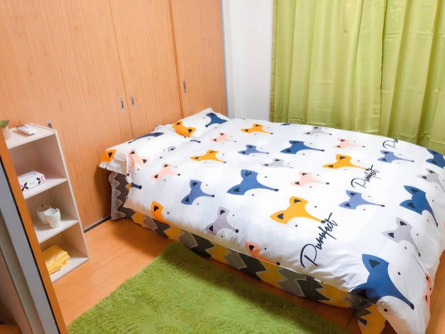 JR电车直达上野/双人床卧室单间/带后院