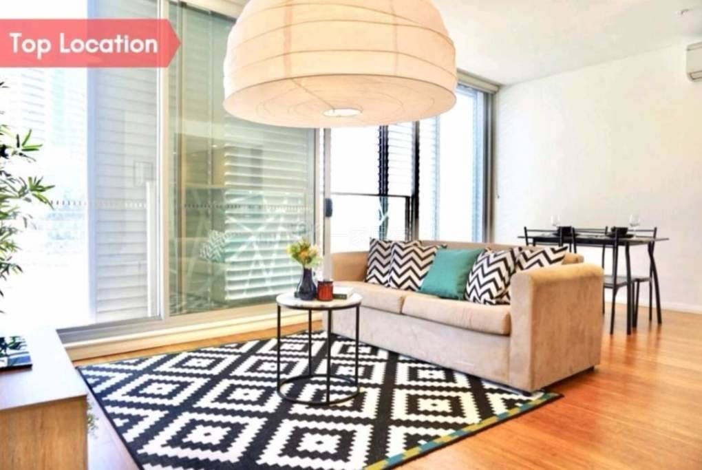 唐人街中心CBD全新精装豪华公寓黄金地段2