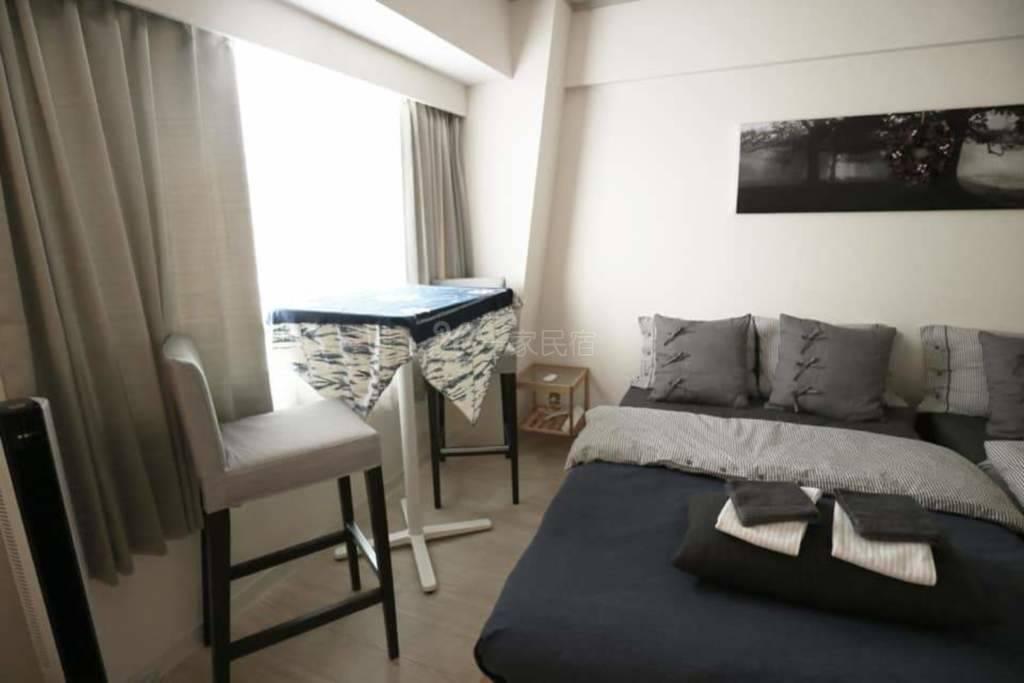 (出站就到家) 新大阪新装修舒服8人房
