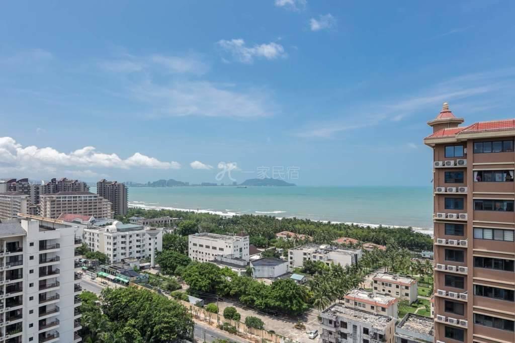 三亚湾椰梦长廊豪华海景两室两厅