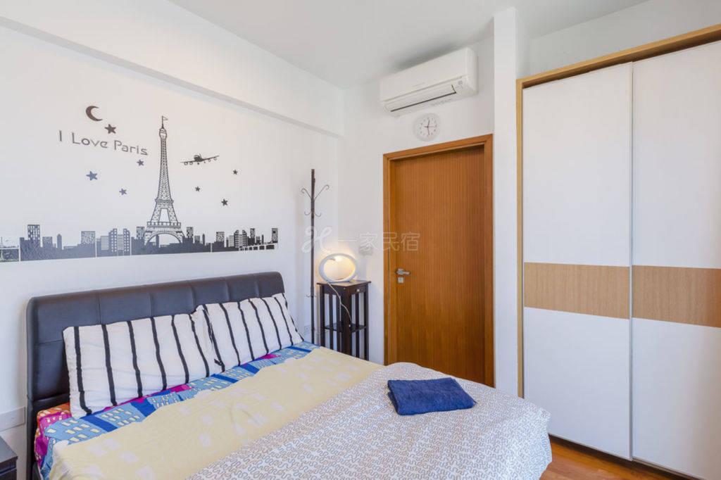 1BR 高级现代式公寓(int)1T