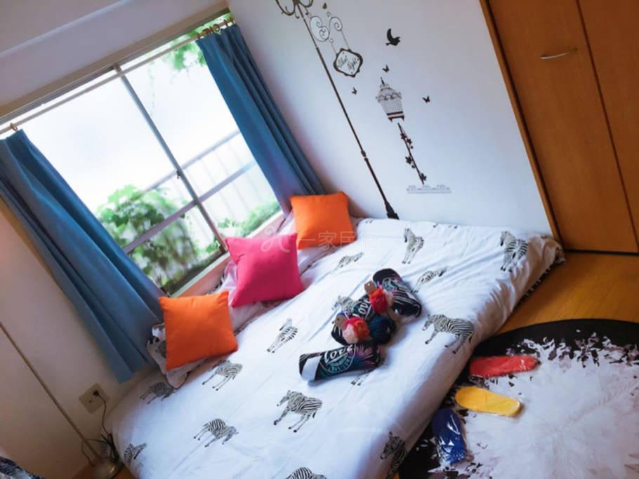 机场直达 日暮里新修公寓超大空间家庭入住