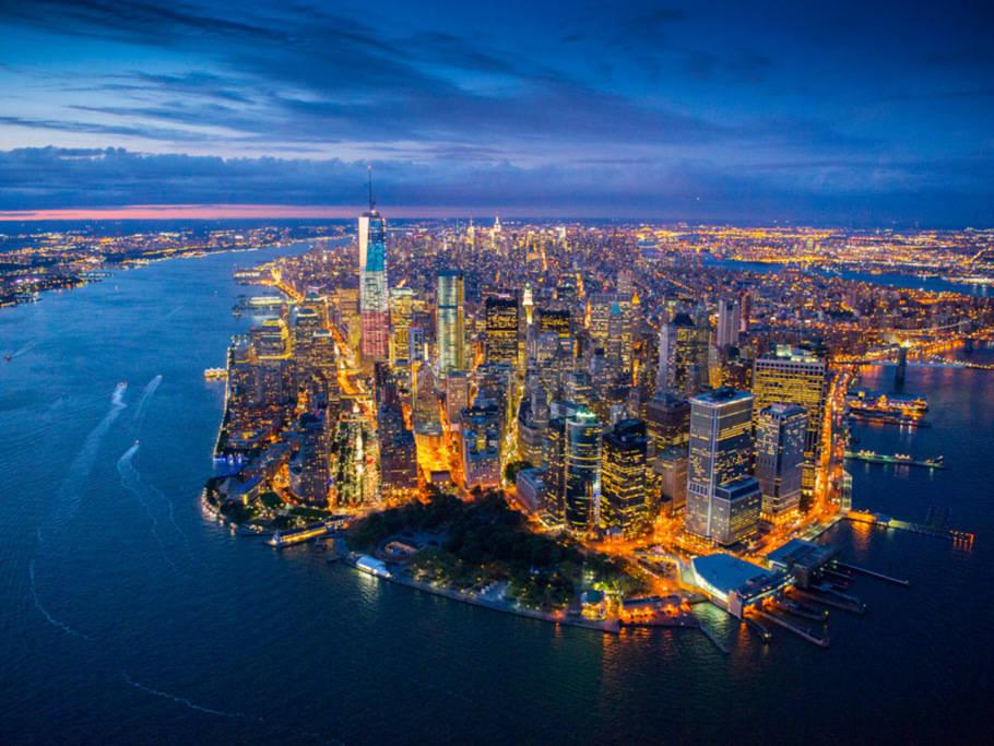 曼哈顿上西区哥大中央公园崭新时尚温馨卧室