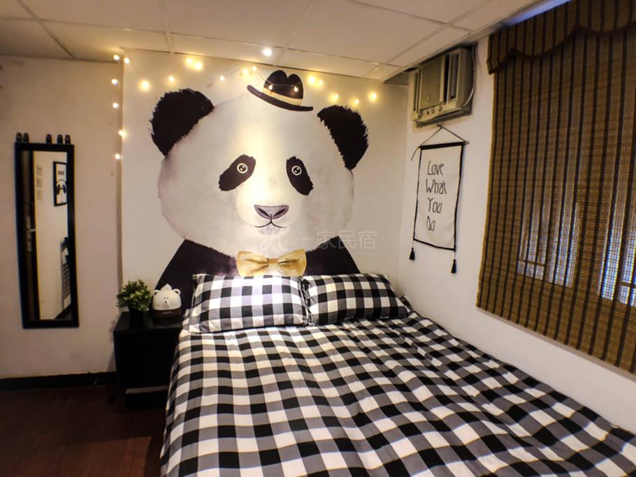 熊猫标準大床房(1.5m)
